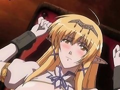 Magic Anime Chick Spreading Her Small Cunt