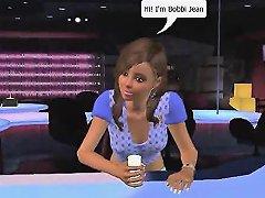 3d Animation Stripclub