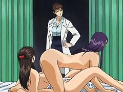 Lesbian Babes Go Hardcore Together In An Anime Video