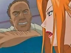 Hot Anime Redhead Fucked To Squirting Orgasm