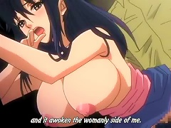 Busty Anime Babe Gets Her   Hard From Behind